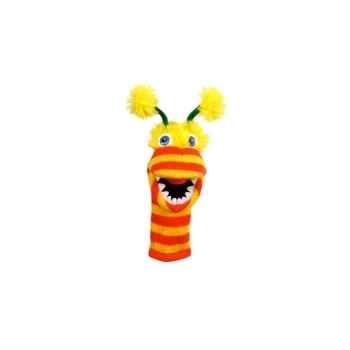 Marionnette chaussette à doigts mini pom-pom -PC007103 The Puppet Company