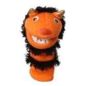 marionnette chaussette a doigts mini pumpkin pc007107 the puppet company