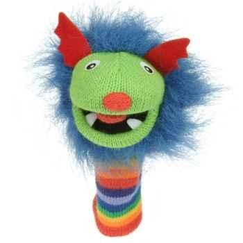 Marionnette chaussette à doigts mini rainbow -PC007102 The Puppet Company