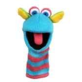 marionnette chaussette a doigts mini scorch pc007101 the puppet company