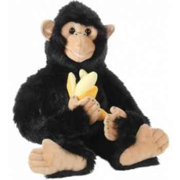 Grande peluche marionnette chimpanzé (bébé) -PC007301 The Puppet Company