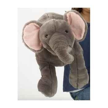 Grande peluche marionnette éléphant -PC007304 The Puppet Company