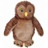 marionnette peluche chouette pc008034 the puppet company
