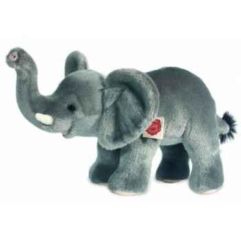 Peluche hermann teddy éléphant debout 40 cm -90740 4