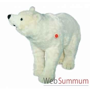 Peluche hermann teddy ours polaire debout 90 cm -91590 4