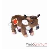 peluche hermann teddy vache debout 22 cm 91723 6