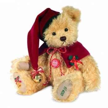 Peluche hermann teddy ours de noël musical 33 cm -14849 4