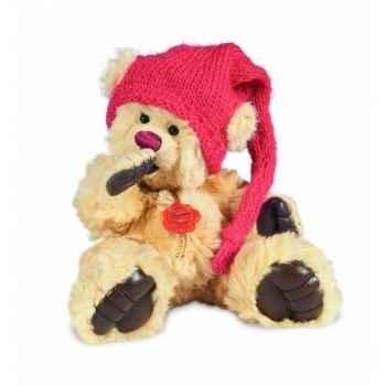 Peluche hermann teddy Tom Pouce avec chapeau 18 cm -15077 0