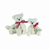 peluche hermann teddy teddy blanc 6 cm 15386 3