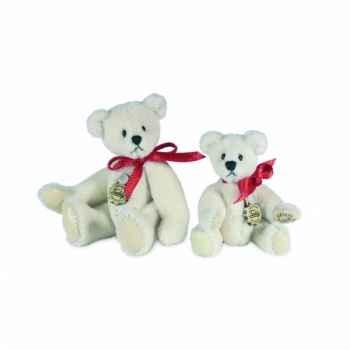 Peluche hermann teddy teddy blanc 6 cm -15386 3