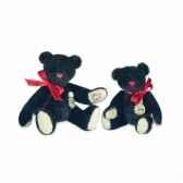peluche hermann teddy teddy noir 6 cm 15388 7