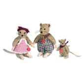 peluche hermann teddy souris enfant 10 cm 17015 0