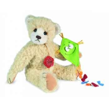 Peluche hermann teddy viola 23 cm -17024 2