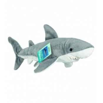 Peluche Hermann Teddy peluche requin gris 38 cm -90138 9