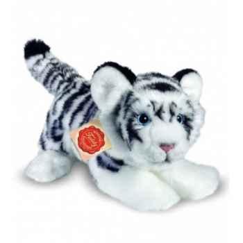 Peluche Hermann Teddy peluche tigre blanc 23 cm -90415 1