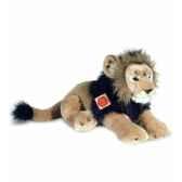 peluche hermann teddy peluche lion couche 45 cm 90443 4