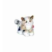 peluche hermann teddy peluche chat assis 23 cm 90667 4