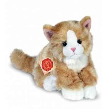 Peluche Hermann Teddy peluche chat assis doré 24 cm -90669 8