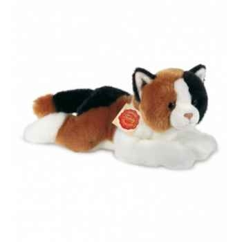 Peluche Hermann Teddy peluche chat tricolore 30 cm -90678 0