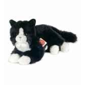 peluche hermann teddy peluche chat noir et blanc 25 cm 90679 7