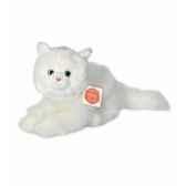 peluche hermann teddy peluche chat blanc 25 cm 90680 3