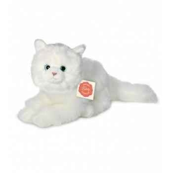 Peluche Hermann Teddy peluche chat blanc 25 cm -90680 3