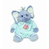 peluche hermann teddy peluche elephant av pyjama 38 cm 90701 5