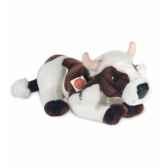 peluche hermann teddy peluche vache marron et blanche 45 cm 91745 8