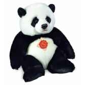 peluche hermann teddy peluche panda assis 24 cm 92425 8