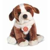 peluche hermann teddy peluche chiot marron et blanc 29 cm 92742 6