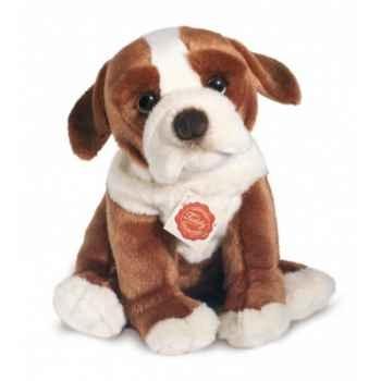 Peluche Hermann Teddy peluche chiot marron et blanc 29 cm -92742 6
