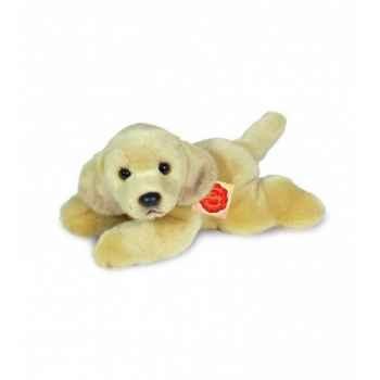 Peluche Hermann Teddy peluche labrador couché 23 cm -92807 2