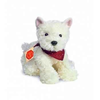 Peluche Hermann Teddy peluche westhighland-terrier blanc 25 cm -92875 1