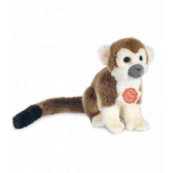 Peluche Hermann Teddy peluche singe brun 17 cm -92916 1