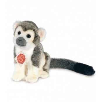 Peluche Hermann Teddy peluche singe gris 17 cm -92917 8