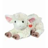 peluche hermann teddy peluche agneau couche 35 cm 93435 6