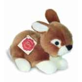 peluche hermann teddy peluche lapin marron couche 18 cm 93706 7