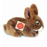 peluche hermann teddy peluche lapin assis brun 19 cm 93709 8