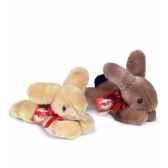 peluche hermann teddy peluche lievre couche 2 couass 20 cm 93718 0