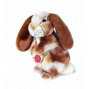 Peluche Hermann Teddy peluche lapin debout doré 26 cm -93738 8
