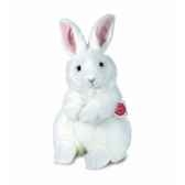 peluche hermann teddy lievre blanc 28 cm 93741 8