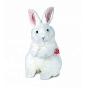 Peluche hermann teddy lièvre blanc 28 cm -93741 8