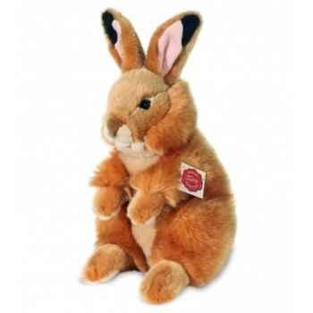 Peluche Hermann Teddy peluche lièvre caramel 28 cm -93747 0