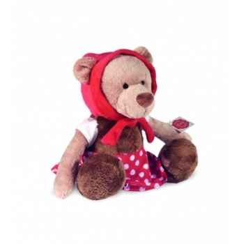 Peluche Hermann Teddy peluche le petit chaperon rouge 30 cm -94631 1