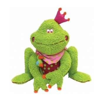 Peluche grenouille rabbit rose 25 cm dushi 60201