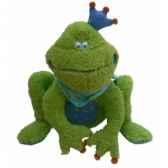 peluche grenouille rabbit bleu 25 cm dushi 60202