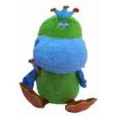 peluche canard dunk bleu 25 cm dushi 60302