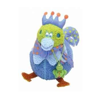 Peluche poule chick bleu 25 cm dushi 60402