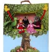 theatre avec 5 marionnettes a doigt dushi e92900