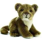 anima peluche bebe lionne assis 18 cm 3422